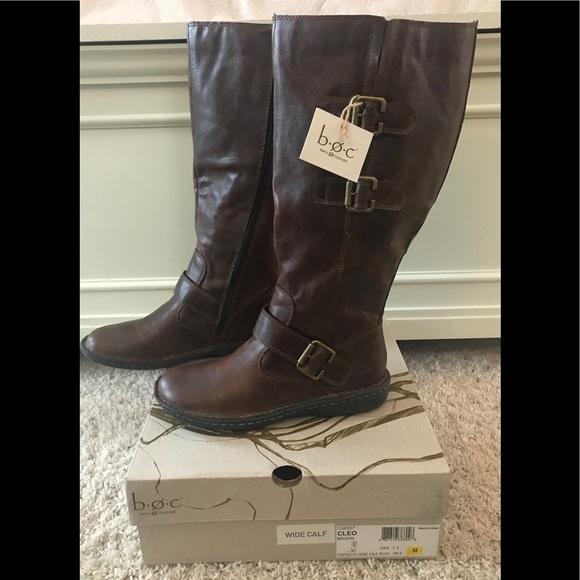 597ebff269e1 NWT BOC Cleo coffee colored boots